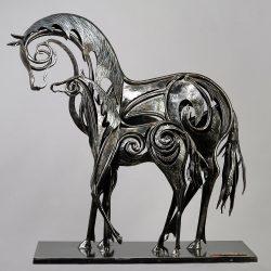 jument-poulain-sculpture-fer