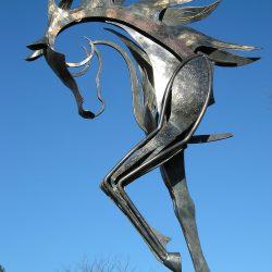 Sculpture monumentale Cheval Don Juan